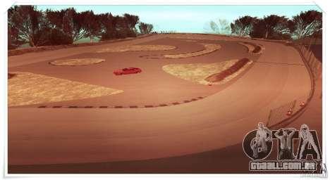 The Ebisu South Circuit para GTA San Andreas segunda tela