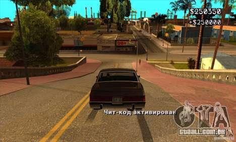 God car mod para GTA San Andreas