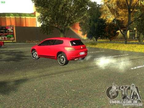 Volkswagen Scirocco 2009 para GTA San Andreas vista direita