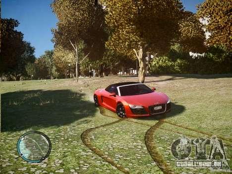Audi R8 Spyder 5.2 FSI Quattro V4 [EPM] para GTA 4 esquerda vista