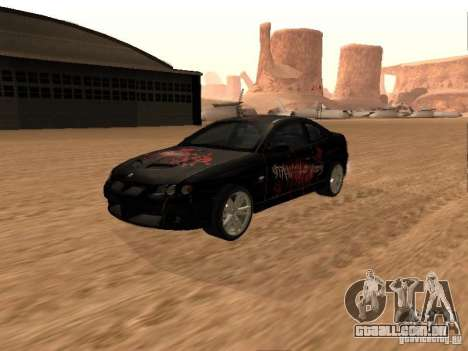 Vauxhall Monaro para GTA San Andreas vista superior