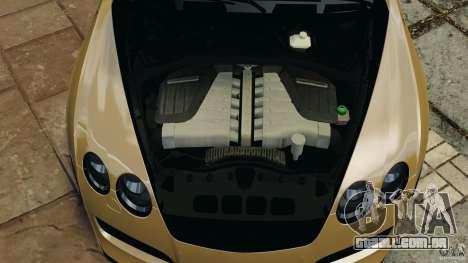 Bentley Continental GT Premier v1.0 para GTA 4 vista superior