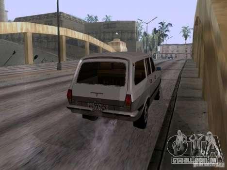 GAZ 24-12 SL Volga para GTA San Andreas esquerda vista