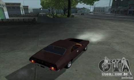 Ford Falcon GT Pursuit Special V8 Interceptor para GTA San Andreas esquerda vista