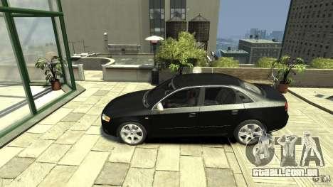 Audi S4 Quattro para GTA 4 esquerda vista