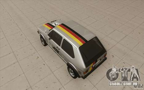 Volkswagen Golf Mk1 - Stock para as rodas de GTA San Andreas