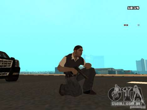No Chrome Gun para GTA San Andreas segunda tela