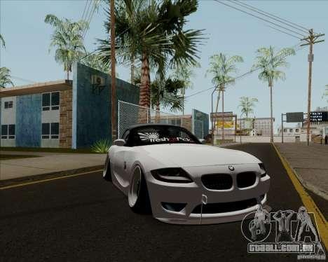 BMW Z4 Hellaflush para GTA San Andreas esquerda vista