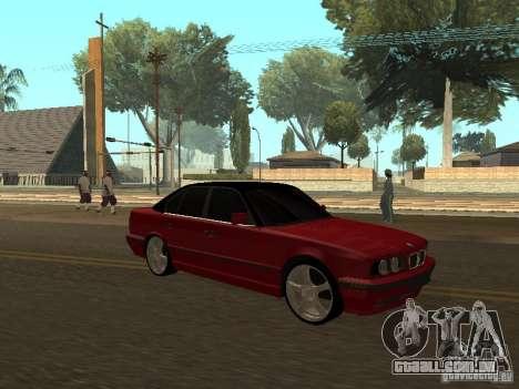 BMW 540i E34 para GTA San Andreas