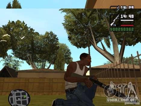 Espingarda para GTA San Andreas segunda tela