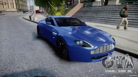 Aston Martin V8 Vantage V1.0 para GTA 4 vista de volta