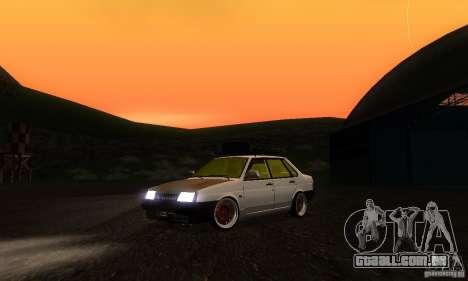 Olhar de rato 21099 VAZ para GTA San Andreas