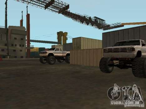 Huge MonsterTruck Track para GTA San Andreas sétima tela