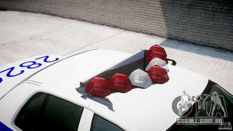 Ford Crown Victoria NYPD para GTA 4 vista inferior