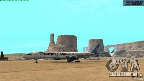 Boeing 757-200 Final Version para GTA San Andreas