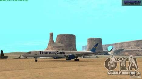 Boeing 757-200 Final Version para GTA San Andreas