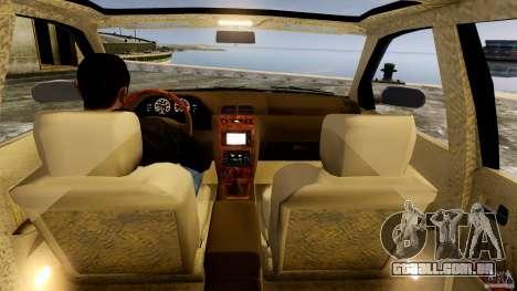 Infiniti I30 A32 Kouki para GTA 4 vista interior