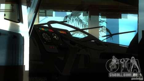 ZIL 5417 conforme SuperZil para GTA San Andreas vista traseira