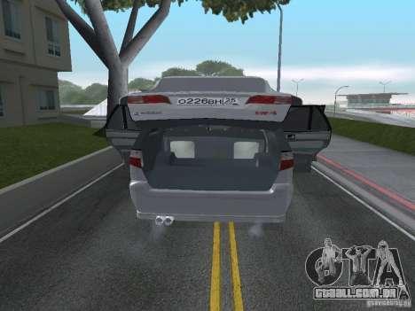 Mitsubishi Legnum para GTA San Andreas vista traseira
