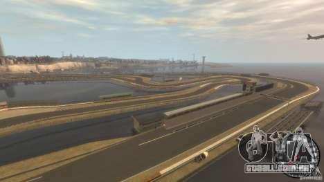Pista de corrida para GTA 4 terceira tela