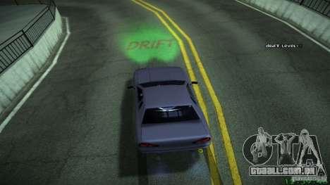Novos efeitos 1.0 para GTA San Andreas sexta tela