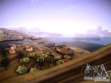 New ENBSeries para GTA San Andreas segunda tela
