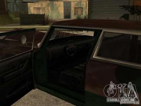 OceanicShit para GTA San Andreas vista interior