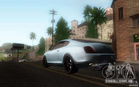 Bentley Continental SS para GTA San Andreas vista interior