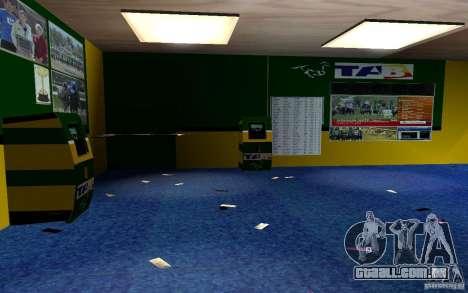 Novo escritório de Bukmejkerskaâ para GTA San Andreas
