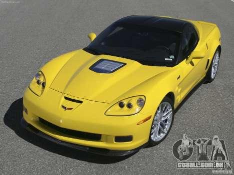 Carregamento telas Chevrolet Corvette para GTA San Andreas quinto tela