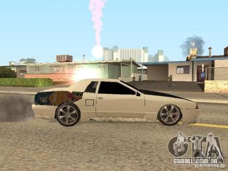 Elegia por Foresto_O para GTA San Andreas traseira esquerda vista