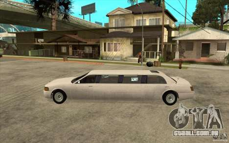 Stretch - GTA IV para GTA San Andreas esquerda vista