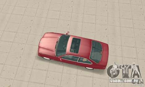 BMW 325i Coupe para GTA San Andreas traseira esquerda vista