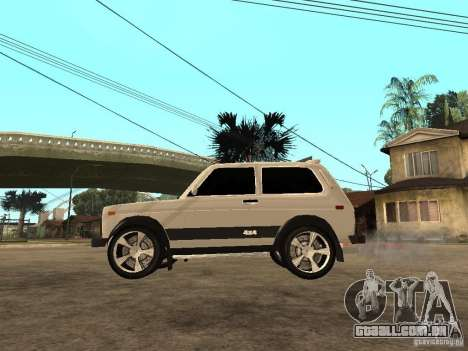 O Niva VAZ 21213 luz Tuning para GTA San Andreas