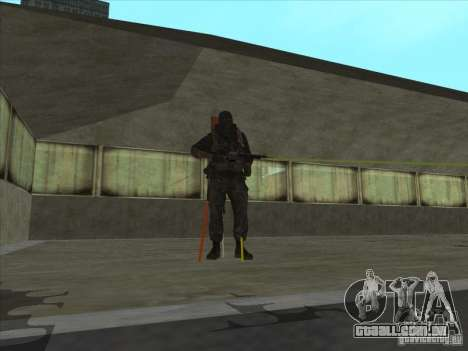 Weapon with laser para GTA San Andreas segunda tela