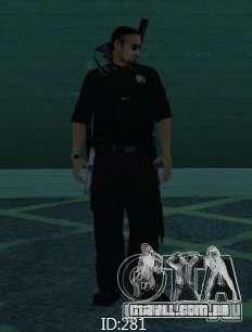 Novas skins polícia de San Angeles para GTA San Andreas terceira tela