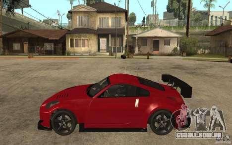 Nissan 350Z Supreme para GTA San Andreas esquerda vista