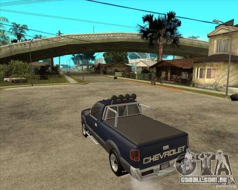 1996 Chevrolet Blazer pickup para GTA San Andreas esquerda vista