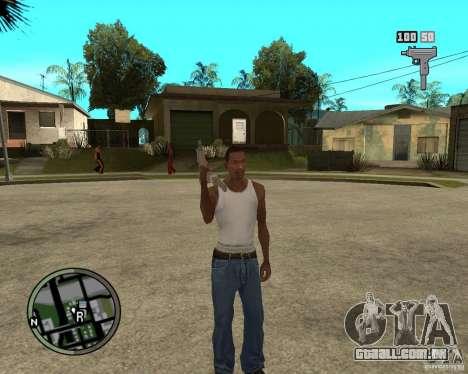 GTA IV HUD para GTA San Andreas segunda tela