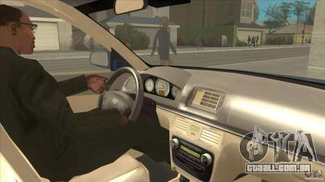Hyundai Sonata NF para GTA San Andreas vista interior