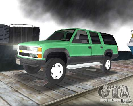 Chevrolet Suburban 1996 para GTA Vice City