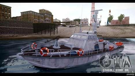 Russian PT Boat para GTA 4
