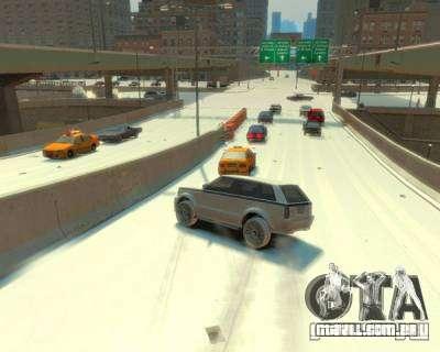 Chuva congelada para GTA 4 segundo screenshot