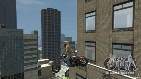 The Lost and Damned Bikes Diabolus para GTA 4 vista de volta