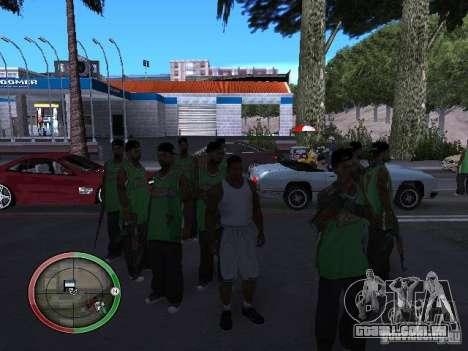 As pessoas da chuva para GTA San Andreas