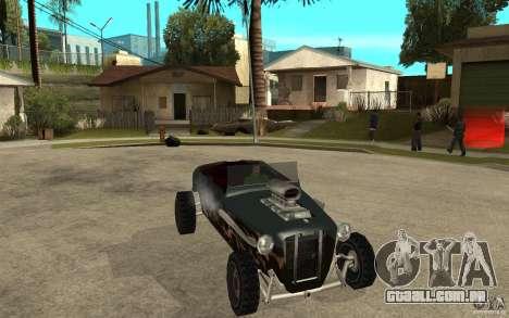 Deuce Brutal Legend para GTA San Andreas vista traseira