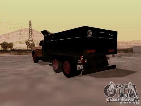 Dodge Dumper para GTA San Andreas vista direita