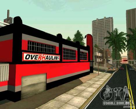 Workshop OVERHAULIN para GTA San Andreas