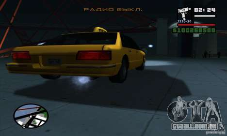 Enb Series HD v2 para GTA San Andreas nono tela