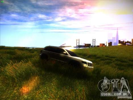 Jeep Grand Cherokee 2012 v2.0 para GTA San Andreas vista traseira